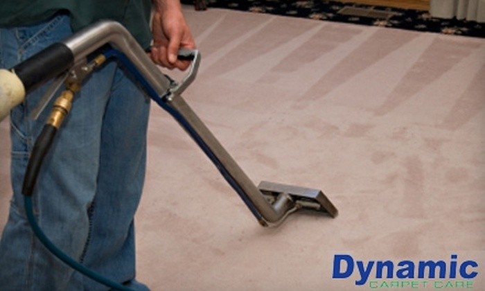 Dynamic Carpet Care - Tulsa: $59 for Carpet Cleaning in Four Rooms from Dynamic Carpet Care ($120 Value)