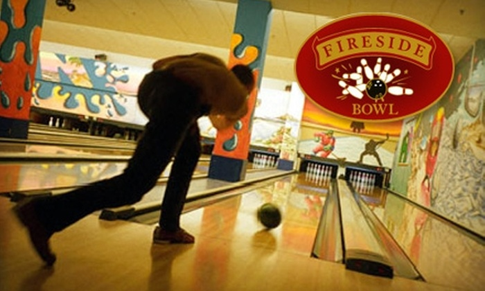 Fireside Bowl - Bucktown: $10 for One Hour of Bowling and Shoe Rental at Fireside Bowl (Up to $27 Value)