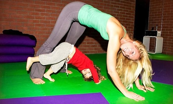 kidsrevolving - Los Angeles: $55 for Five Yoga-Inspired Parent-and-Child Classes at kidsrevolving in Santa Monica ($110 Value)