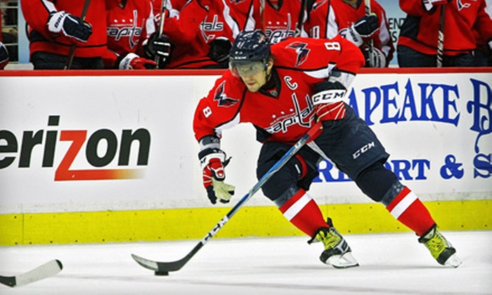 Washington Capitals - Downtown - Penn Quarter - Chinatown: One Washington Capitals Rock the Red Hockey Package at Verizon Center. Three Options Available.