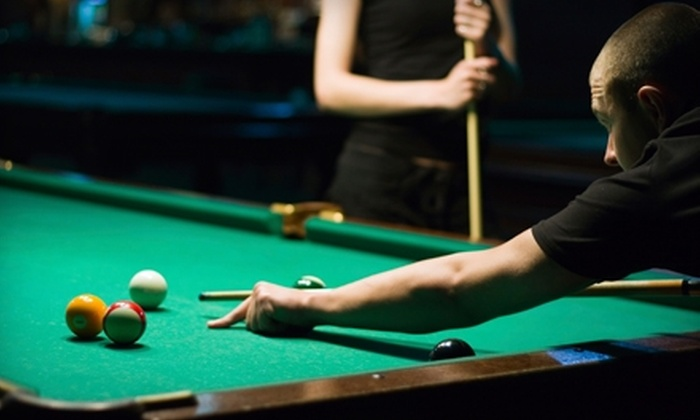 Drexeline Billiards Club - Drexel Hill: Billiards, Snacks, and Pro-Shop Credit at Drexeline Billiard Club in Drexel Hill (Up to 55% Off). Two Options Available.