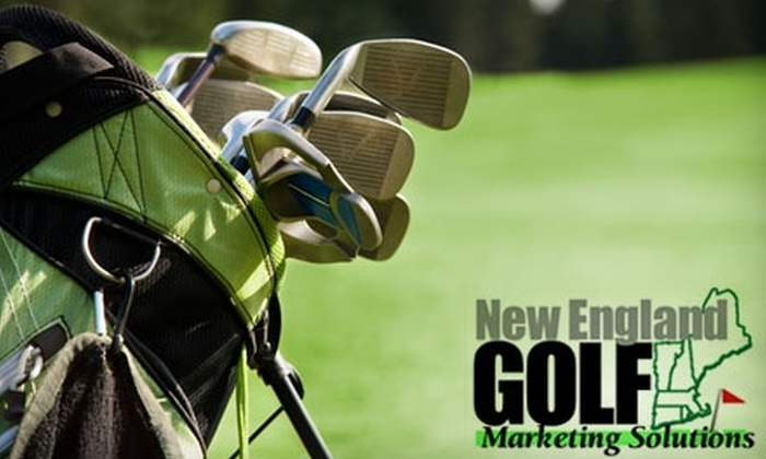 New England Golf Marketing Solutions: $45 for a Season Pass 2011 Savings Booklet from Southern New England Golf Marketing Solutions ($59.95 Value)