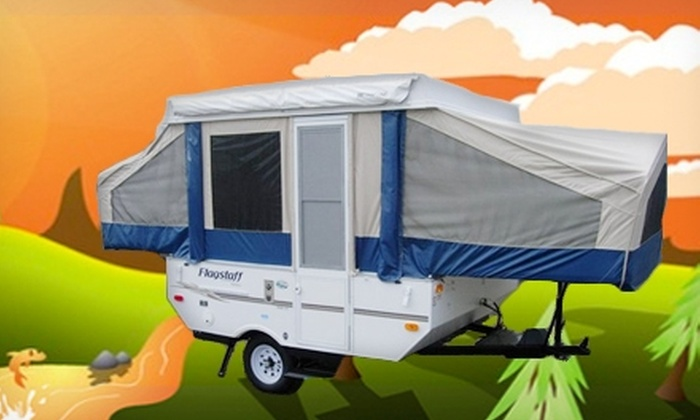 Southern Popup Rentals - Troutman : Three-Day Rental of a Pop-Up Camper from Southern Popup Rentals. Two Options Available.
