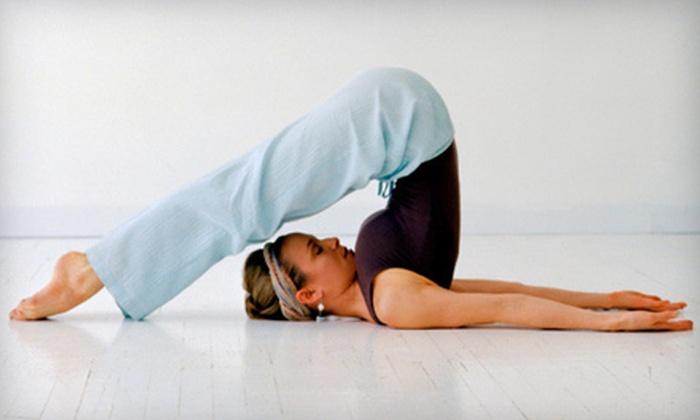 Zenya Yoga & Massage Studio - Deer Park: $45 for 10 Yoga Classes at Zenya Yoga & Massage Studio in Newport News (Up to $135 Value)