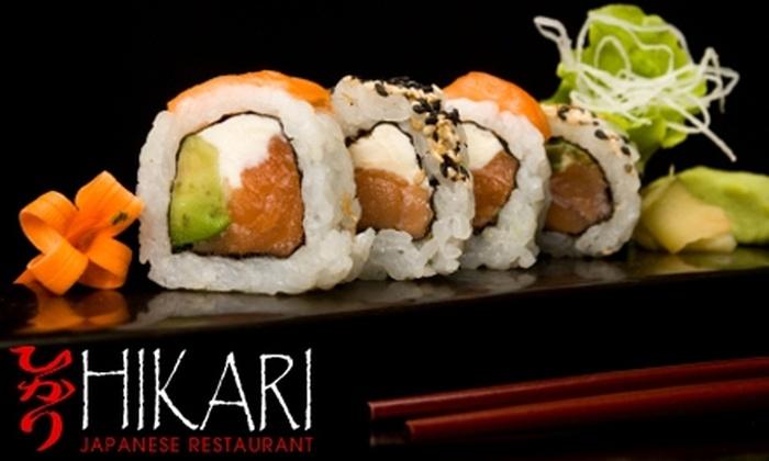 Hikari Japanese Restaurant - City Centre: $15 for $30 Worth of Sushi, Drinks, and More at Hikari Japanese Restaurant