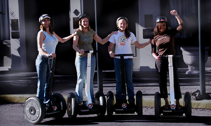 SegCity - Fort Crockett: Outing to Galveston Haunted Legends Segway Tour for One, Two, or Eight from SegCity