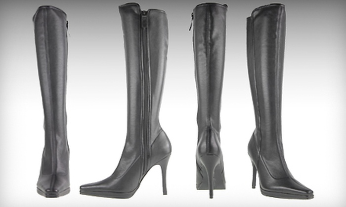 Chinese Laundry Faith Boots: $39 for One Pair of Black Faith Boots from Chinese Laundry ($79.95 Value)