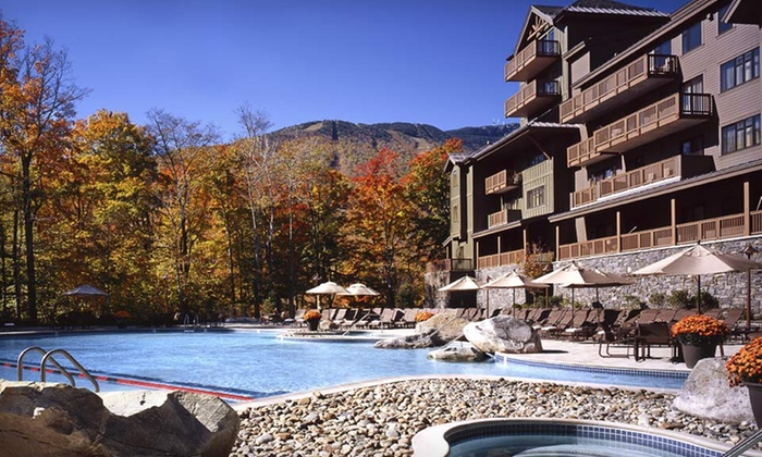Stowe Mountain Lodge - Stowe: One-Night Stay for Two at Stowe Mountain Lodge in Vermont. Two Options Available.