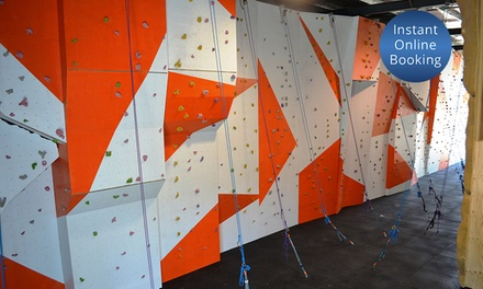 TwoHour Rock Climbing Pass for One $15 or Two Adults $29 or Family $49 at Rockit Climbing Gym Up to $114 Value