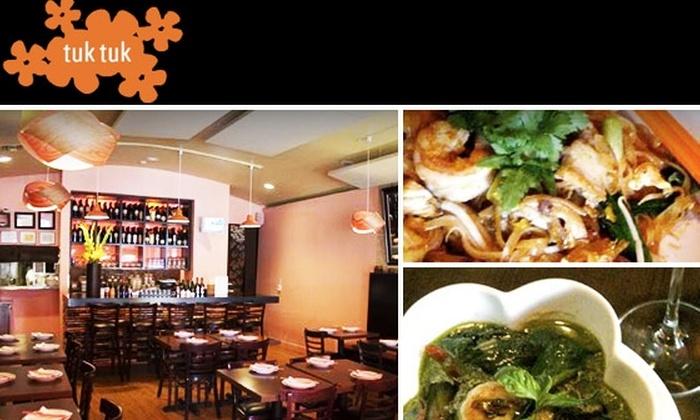 Tuk Tuk Thai Restaurant - Beverlywood: $15 for $30 Worth of Thai Food and Drink at Tuk Tuk