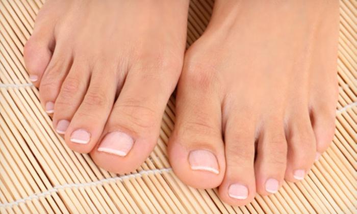 False Creek Skin Solution Clinic - False Creek South: Laser Toenail-Fungus Treatment for One or Both Feet at False Creek Skin Solution Clinic (Up to 73% Off)