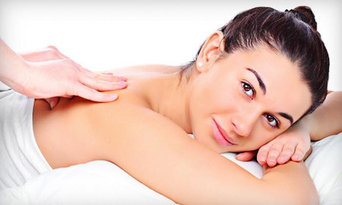Organic Spa Intelligent Beauty - Darien: Spa Pedicure, Massage or Facial, or HydraFacial at Organic Spa Intelligent Beauty in Darien (Half Off)
