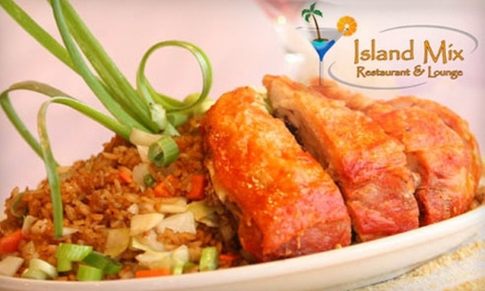 Island Mix Restaurant & Lounge - Toronto (GTA): $10 for $20 Worth of Caribbean and Chinese Fare at Island Mix Restaurant & Lounge in Vaughan