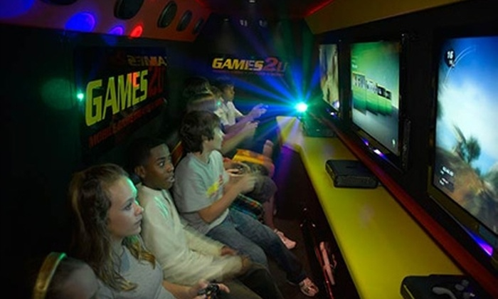 Games2U - Rio Grande Valley: $149 for a Two-Hour Video-Game-Theater Van Party from Games2U