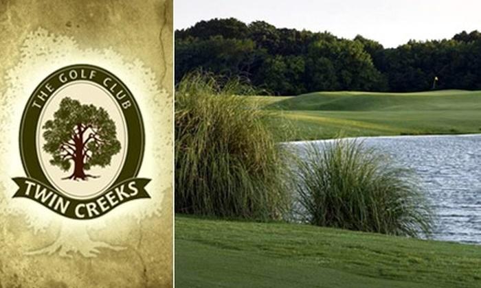 Twin Creeks Golf Club - Twin Creeks: $35 for an 18-Hole Round of Golf with a Cart at Twin Creeks Golf Club ($70 Value)