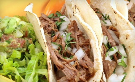 Mexican Cuisine at Los Cinco Puntos (Up to 45% Off). Two Options Available.
