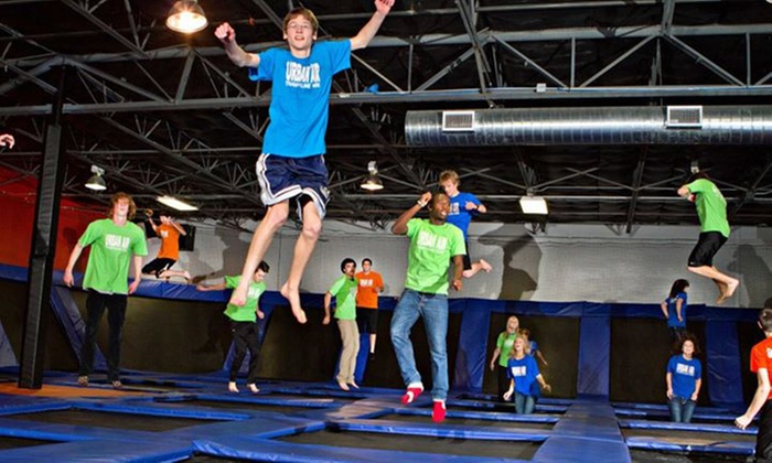 Urban Air Trampoline Park - Commerce Business Park: Trampolining on Monday–Thursday or Friday–Sunday for Two or Four at Urban Air Trampoline Park (Up to 50% Off)
