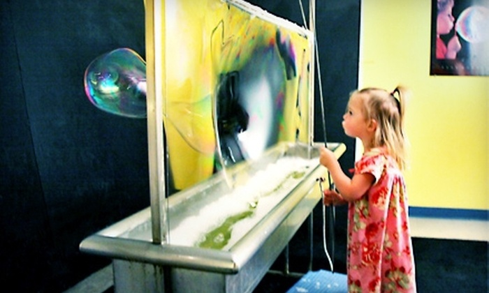Discovery Center of Idaho - Downtown,River Myrtle-Old Boise District: $15 for a Discovery Center of Idaho Family Outing for Up to Six ($35 Value)