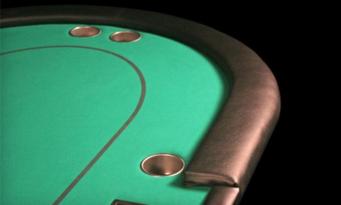 BBO Poker Tables - Pittsburg: $275 for a BBO V5 Series Pro Poker Table at BBO Poker Tables in Pittsburg ($549 Value)