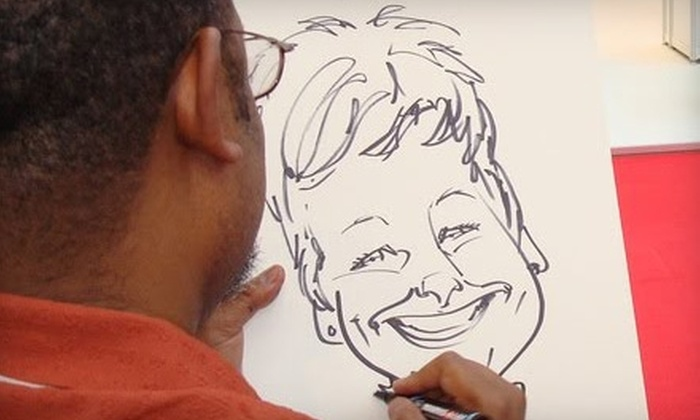 ENTCO International, Inc. - Seattle: $185 for a One-Hour Caricaturist Session (Up to 70 Pictures) from Steven Hartley ($390 Value)