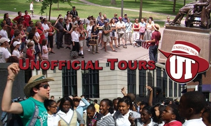 Unofficial Tours - Multiple Locations: $25 for Tours of Harvard and the Freedom Trail from Unofficial Tours ($64.10 Value)