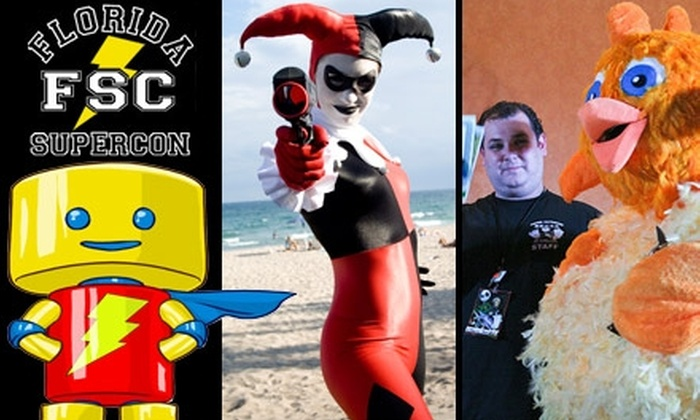 Florida Supercon - North Westside: $75 for a V.I.P. Weekend Pass to Florida Supercon ($150 Value)