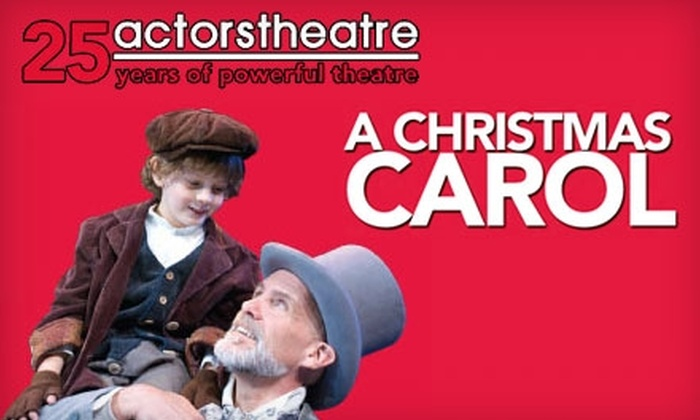 """Actors Theatre - Downtown Phoenix: One Ticket to """"A Christmas Carol"""" at the Actors Theatre. Choose From Two Seating Options."""