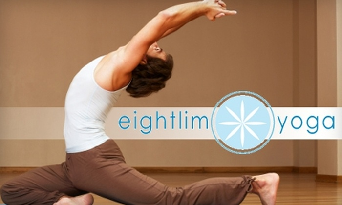Eightlim Yoga - Camelback East: $30 for One-Month of Unlimited Yoga Classes at Eightlim Yoga Studio ($130 Value)