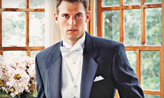 Thomcyns Formal Attire - Madison Avenue: $27 for a Tuxedo Rental at Thomcyns Formal Attire in Council Bluffs ($55 Value)