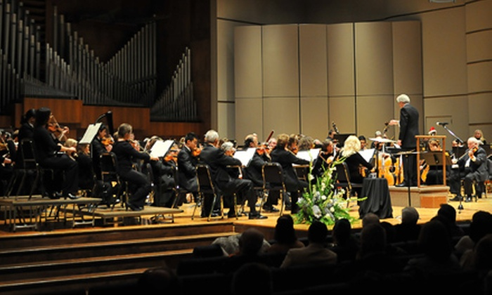 """Topeka Symphony Orchestra - Central Topeka 2: Two Tickets to the Topeka Symphony Orchestra's Performance of """"Czech Mates"""" or """"The 5th!"""" at White Concert Hall"""