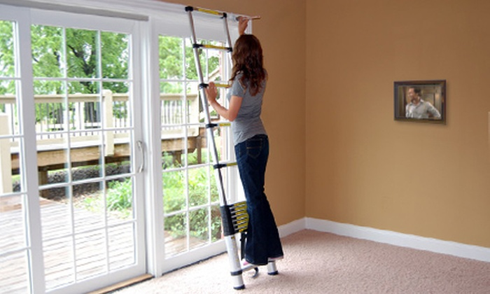 Extend A Step: $119 for a Telescoping Ladder with a Carrying Bag from Extend A Step (Up to $249.99 Value)