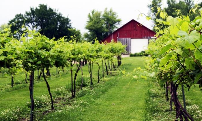 Harpors Vineyard - Liberty: Four-Hour Venue Rental at Harpor's Vineyard (45% Off)