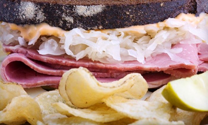 Groucho's Deli  - Winthrop University: $9 for Two Sandwiches and Two Drinks at Groucho's Deli in Rock Hill (Up to $18.16 Value)