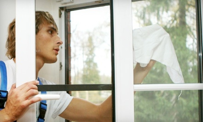 Clearview Window Washing Service - Stockton: $40 for $80 Worth of Window Cleaning from Clearview Window Washing Service