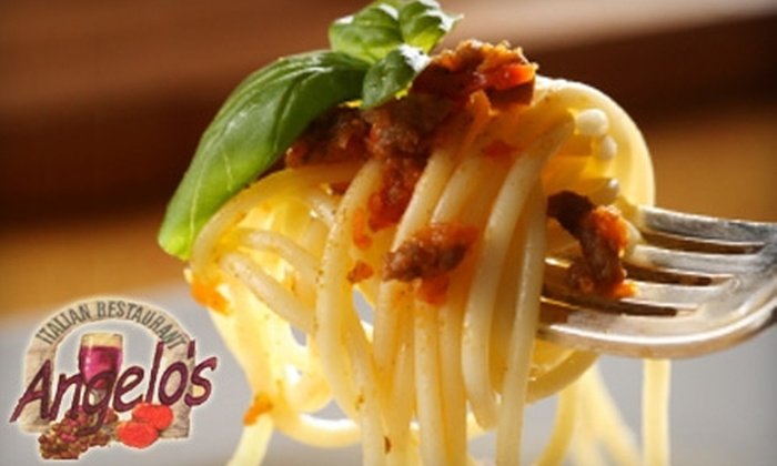 Angelo's Italian Restaurant - Evansville: $15 for $30 Worth of Italian Cuisine at Angelo's Italian Restaurant