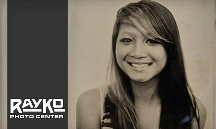 RayKo Photo Center - SoMa: $65 for One Metal-Plate TinType Images from RayKo Photography ($130 Value)