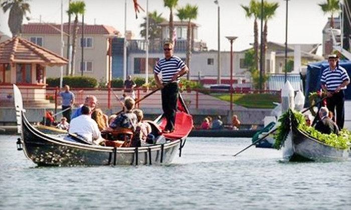 Sunset Gondola - Huntington Beach: $75 for a Gondola Cruise for Up to Four People from Sunset Gondola in Huntington Beach ($160 Value)