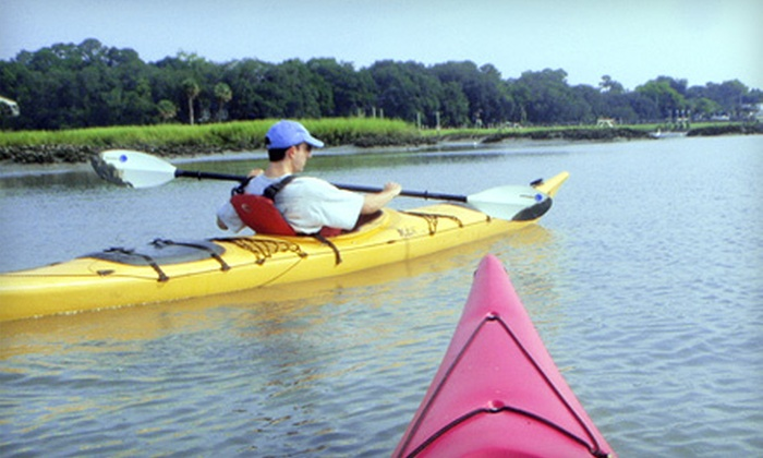 Marsh Grass Adventures - Bluffton: $60 for Kayak-Adventure Package with Instruction and Tour from Marsh Grass Adventures ($120 Value)