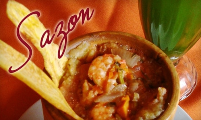 Sazón Latin Fusion - Culver - West: $10 for $20 Worth of Latin Cuisine at Sazón Latin Fusion in Culver City