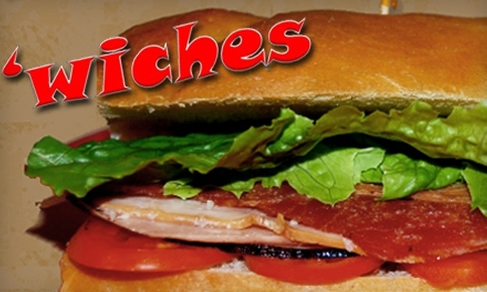 'Wiches - Downtown Oxford: $7 for $15 Worth of Sandwiches and Specialty Pizzas at 'Wiches in Oxford