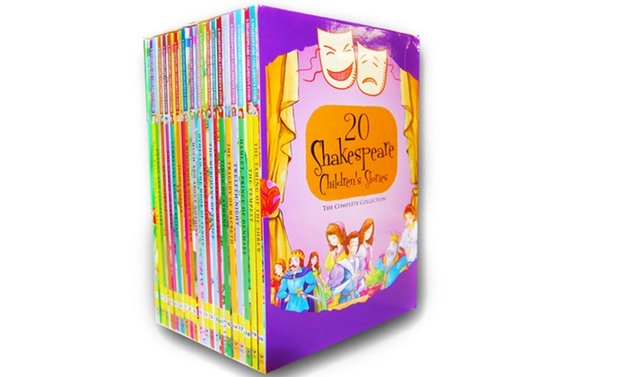 Up To 75 Off On Kids Shakespeare Boxed Set 20 Groupon Goods