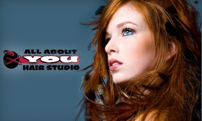 All About You Hair Studio - Englewood: $25 for a Haircut, Facial Wax, Shampoo, and Conditioner at All About You Hair Studio (Up To $61 Value)