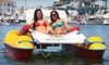 Newport Fun Tours - Newport Beach: Two-Hour Kayak, Paddleboard, or Electric Lounger Rental from Newport Fun Tours in Newport Beach