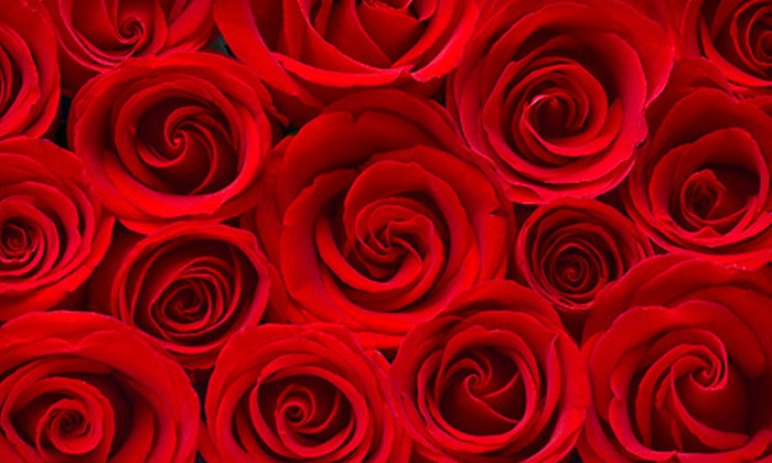 Glass City Flowers - Mellwood: $35 for One Dozen Premium Red Roses at Glass City Flowers (Up to $69.99 Value)