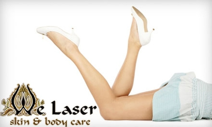 We Laser Skin & Body Care - Valley Village: $59 for Two InfraRed Body-Wrap Sessions ($158 Value) at We Laser Skin & Body Care in North Hollywood