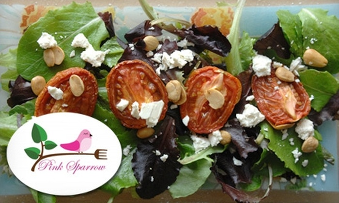 Pink Sparrow Cooking Parties and Catering - La Crescenta-Montrose: $60 for a Couple's Cooking Class from Pink Sparrow Cooking Parties and Catering ($120 Value)