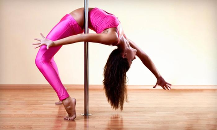 The Secret Pole Dance Studio - Baldwin Hills: $39 for Four Fitness Classes at The Secret Pole Dance Studio ($85 Value)