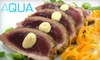 Aqua Restaurant - Downtown: $30 for $60 Worth of Dinner Fare or $10 for $20 Worth of Lunch Fare at Aqua Kitchen and Bar