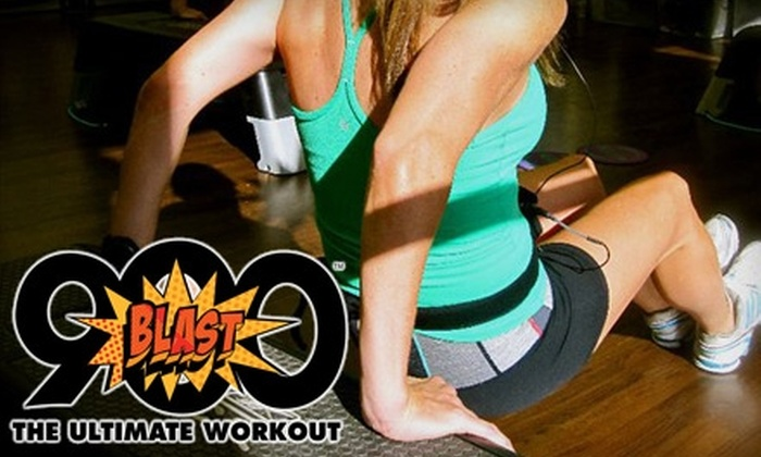 BLAST900 The Ultimate Workout - Multiple Locations: $25 for Three Full-Body Interval Workout Classes at BLAST900 ($84 Value)