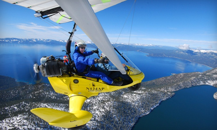 Adventure At Altitude - Steinbach: $125 for Ultralight Hang-Glide SkyRide at Adventure At Altitude (Up to $300 Value)